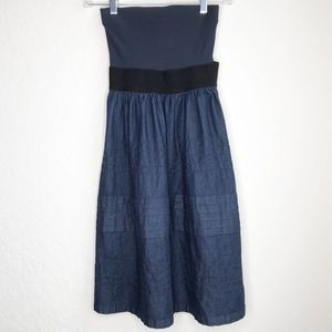 Theory Denim Style Edan Dress, Sz OSFA (S-M)